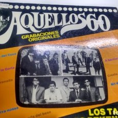 Discos de vinilo: LP ( VINILO) AQUELLOS 60 ( PEKENIKES-LOS TAMARA--LOS RELAMPAGOS). Lote 156686610