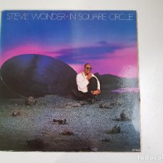 Discos de vinilo: STEVIE WONDER - IN SQUARE CIRCLE (VINILO). Lote 156689546