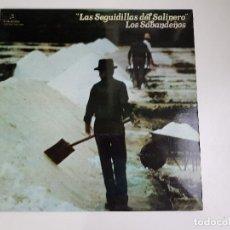 Discos de vinilo: LOS SABANDEÑOS - LAS SEGUIDILLAS DEL SALINERO (VINILO). Lote 156689794
