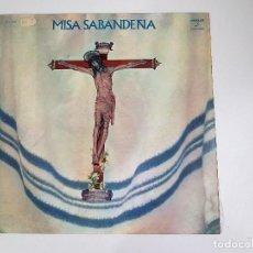 Discos de vinilo: LOS SABANDEÑOS - MISA SABANDEÑA (VINILO). Lote 156689946