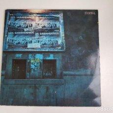 Discos de vinilo: LOS SABANDEÑOS - EN DIRECTO (VINILO). Lote 156690330