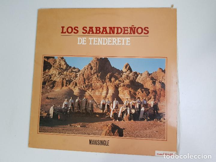 LOS SABANDEÑOS - DE TENDERETE (VINILO) (Música - Discos de Vinilo - Maxi Singles - Country y Folk)