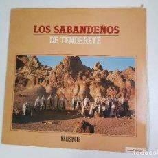 Discos de vinilo: LOS SABANDEÑOS - DE TENDERETE (VINILO). Lote 156690562