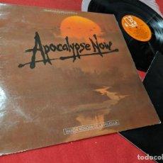Discos de vinilo: APOCALYPSE NOW BSO OST LP 1980 ELEKTRA EDICION ESPAÑOLA SPAIN COPPOLA CARMINE&FRANCIS+LIBRETO. Lote 156691578