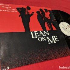 Discos de vinilo: LEAN ON ME BSO OST LP 1989 WB GERMANY ALEMANIA GUNS N'ROSES+YKA+BIG DADDY+STETSASONIC. Lote 156692410