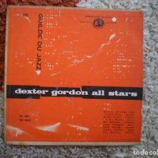 Discos de vinilo: DEXTER GORDON. ALL STARS. DEXTERITY. AÑOS 60. . Lote 156701874