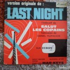Discos de vinilo: THE MAR-KEYS. LAST NIGHT + 3. AÑOS 60- . Lote 156702462