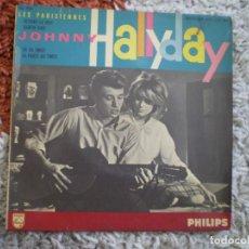 Discos de vinilo: JOHNNY HALLYDAY. RETIENS LA NUIT + 3. AÑOS 60.. Lote 156702874