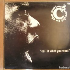 Discos de vinilo: CREDIT TO THE NATION – CALL IT WHAT YOU WANT - ONE LITTLE INDIAN  1993 - MAXI - PLS. Lote 156703418