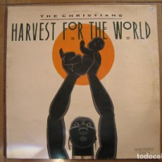 Discos de vinilo: THE CHRISTIANS ‎– HARVEST FOR THE WORLD - ISLAND RECORDS 1988 - MAXI - PLS. Lote 156705290
