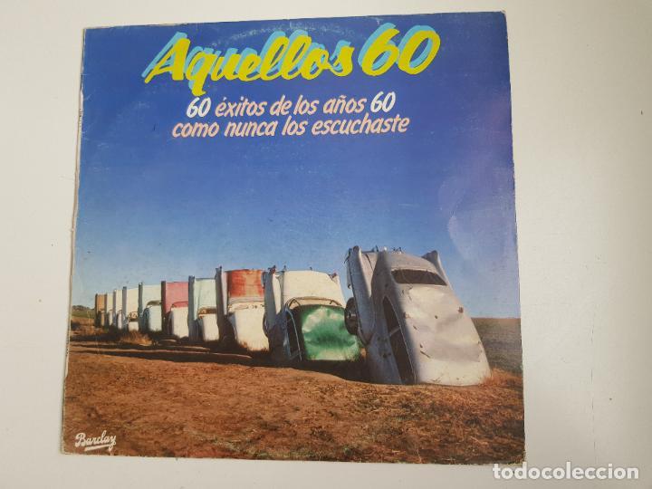 VARIOS - AQUELLOS 60 (VINILO) (Música - Discos - LP Vinilo - Pop - Rock Extranjero de los 50 y 60)