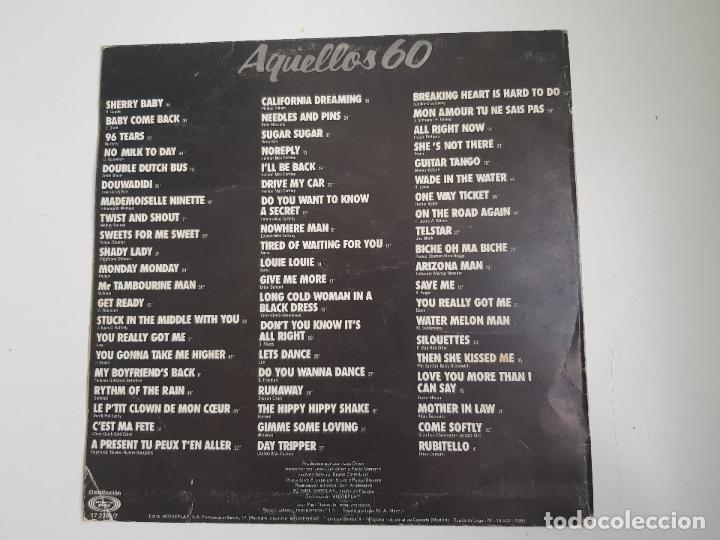 Discos de vinilo: Varios - Aquellos 60 (VINILO) - Foto 2 - 156705762