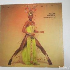 Discos de vinilo: AMII STEWART - KNOCK ON WOOD (TOCAR MADERA) (VINILO). Lote 156706082