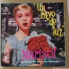 Discos de vinilo: MARISOL - UN RAYO DE LUZ + 3. Lote 156708462