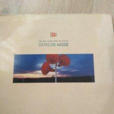 Discos de vinilo: DEPECHE MODE-MUSIC THE MASSES-ORIGINAL ESPAÑOL 1987-MUY BUEN ESTADO. Lote 156717458