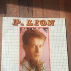 Discos de vinilo: P LION - DREAM 1984 SEMIPRECINTADO ITALO DISCO. Lote 156718562