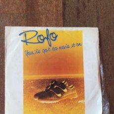 Discos de vinilo: ROFO - YOU'VE GOT TO MOVE IT ON ITALO DISCO. Lote 156730662