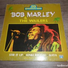 Discos de vinilo: BOB MARLEY & THE WAILERS - 20 GREATEST HITS. Lote 156737774