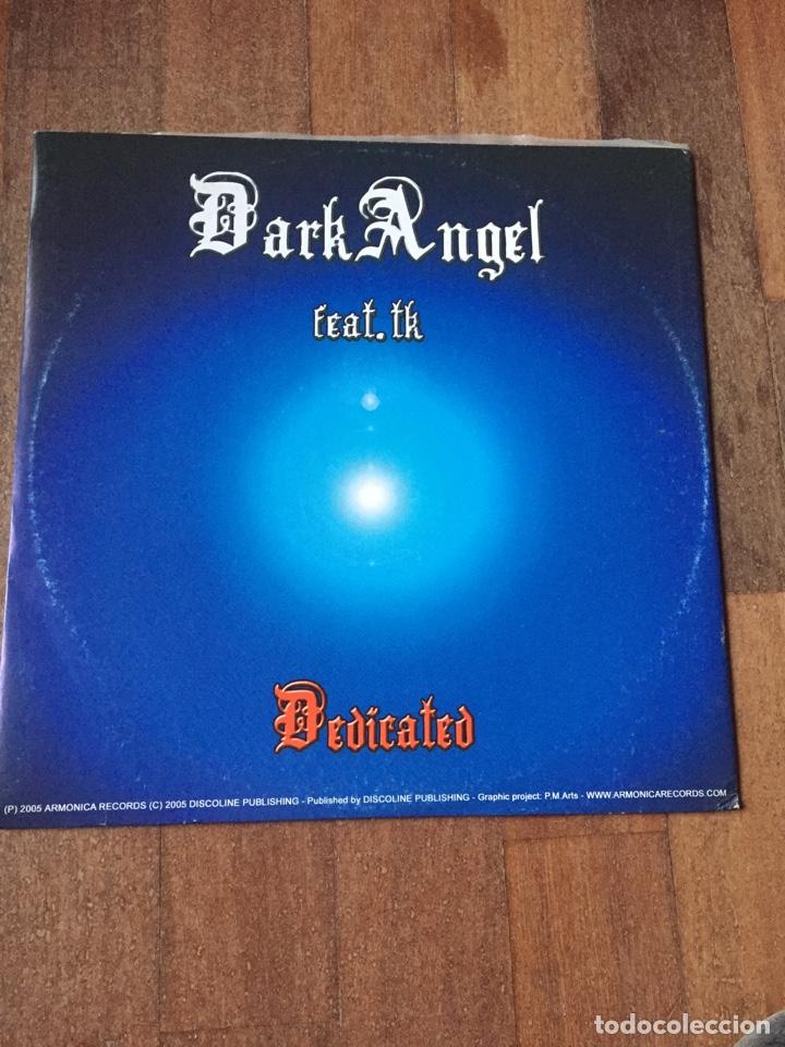 """DARK ANGEL - DEDICATED / CALVARUSO - MAKE YOU LOVE 12"""" ITALODANCE 2005 (Música - Discos de Vinilo - Maxi Singles - Disco y Dance)"""