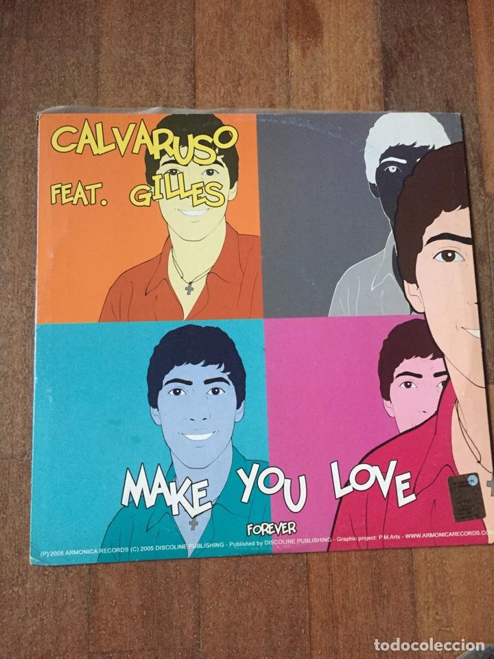 "Discos de vinilo: Dark Angel - Dedicated / Calvaruso - Make You Love 12"" ITALODANCE 2005 - Foto 2 - 156739646"