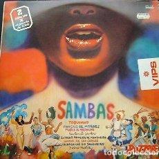 Discos de vinilo: SAMBAS - 2 LP - TOQUINHO, VINICIUS, ETC. - PUZZLE. Lote 156742354