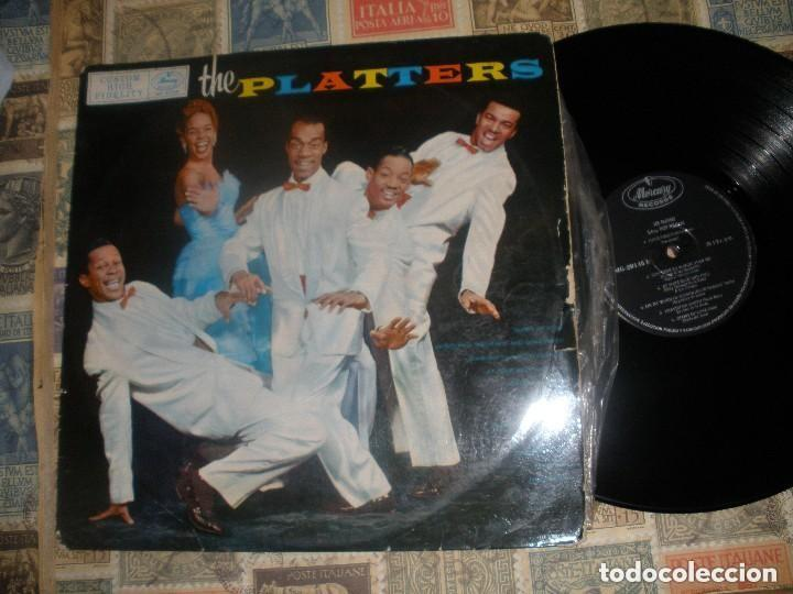 THE PLATTERS, PLATTERS, (MERCURY 1962 )OG ESPAÑA (Música - Discos - LP Vinilo - Rock & Roll)