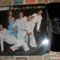Discos de vinilo: THE PLATTERS, PLATTERS, (MERCURY 1962 )OG ESPAÑA. Lote 156743390