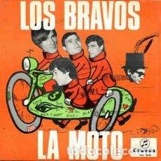 Discos de vinilo: LOS BRAVOS * LA MOTO. Lote 156744514