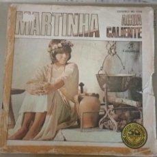 Discos de vinilo: MARTINHA - AGUA CALIENTE. PROMOCIONAL. Lote 156748590