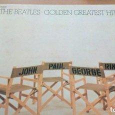 Discos de vinilo: THE BEATLES GOLDEN GREATEST HITS LP SPAIN 1979. Lote 156749674