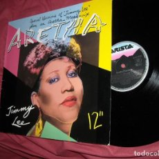 Discos de vinilo: ARETHA MAXISINGLE ESPECIAL VERSIONS PLUS JIMMY LEE. Lote 156751686