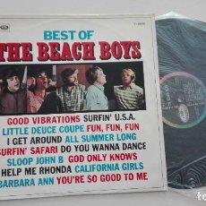 Discos de vinilo: BEST OF THE BEACH BOYS EMI 1967. Lote 156751786