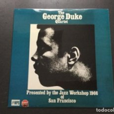 Discos de vinilo: THE GEORGE DUKE QUARTET- PESENTED BY THE JAZZ WORSHOP 1966. Lote 156753954