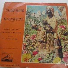 Discos de vinilo: ESCOLANIA DE MONTSERRAT - STABAT MATER / MAGNIFICAT VSD09. Lote 156755090