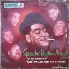 Discos de vinilo: FATS WALLER AND HIS RHYTHM. SPREADIN' RHYTHM AROUND. HIS MASTER'S VOICE, UK 10'' LP (DLP 1138). Lote 156755470