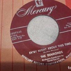 Discos de vinilo: THE DIAMONDS - LOVE LOVE LOVE SG ORIGINAL USA DOO-WOP RNR. Lote 156763262