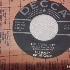 Discos de vinilo: BILL HALEY - SEE YOU LATER ALLIGATOR SG OR USA. Lote 156763574