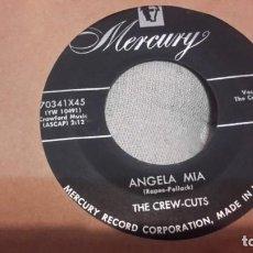 Discos de vinilo: THE CREW-CUTS - CRAZY 'BOUT YA BABY OR SG USA DOOWOP RNR. Lote 156764078