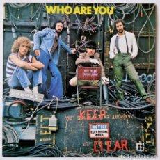 Discos de vinilo: THE WHO - WHO ARE YOU - NEW SONG / HAD ENOUGH / 905 / ... - POLYDOR 1978 - EDICIÓN SPAIN ESPAÑOLA. Lote 156765498