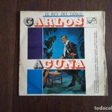 Discos de vinilo: DISCO VINILO LP CARLOS ACUÑA, EL REY DEL TANGO. ZAFIRO Z-L 83 AÑO 1966. Lote 156767758