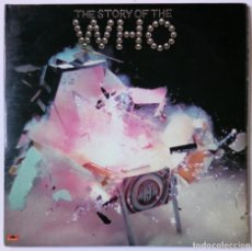Discos de vinilo: THE STORY OF THE WHO - LP DOBLE / MAGIC BUS / PICTURES OF LILY / - POLYDOR 1975 ED. UK REINO UNIDO. Lote 156767946