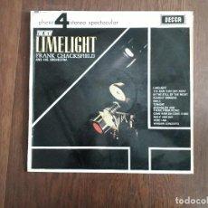 Discos de vinilo: DISCO VINILO LP THE NEW LIMELIGHT, FRANK CHACKSFIELD AND HIS ORCHESTRA. DECCA PFS 4072 AÑO 1966. Lote 156768310