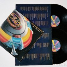 Discos de vinilo: ELO - ELECTRIC LIGHT ORCHESTRA - OUT OF THE BLUE - DOBLE - 1977 - JET RECORDS - ED. USA LOS ÁNGELES. Lote 156769262