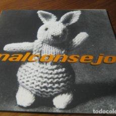 Discos de vinilo: MALCONSEJO - INVISIBLE ********* MAYBE TOMORROW 1995 IMPECABLE. Lote 156775654
