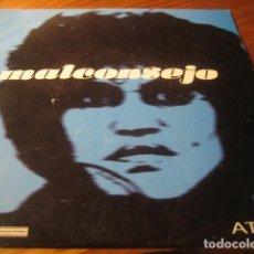 Discos de vinilo: MALCONSEJO - ATRÁS ********* MAYBE TOMORROW 1996 IMPECABLE. Lote 156775714
