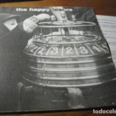 Discos de vinilo: THE HAPPY LOSERS - NOBODY ********* ROCK INDIANA 1996 ED.LIMITADA IMPECABLE. Lote 156775802