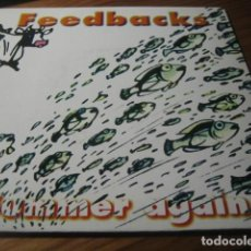 Discos de vinilo: FEEDBACKS - SUMMER AGAIN ********* ROCK INDIANA 1996 IMPECABLE. Lote 156775906