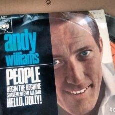 Discos de vinilo: E P ( VINILO) DE ANDY WILLIAMS AÑOS 60. Lote 156788598