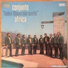 Discos de vinilo: CONJUNTO AFRICA TODOS TIENEN UNA MARIA LP ESPAÑA PEERLESS EXCELENTE. Lote 156788630