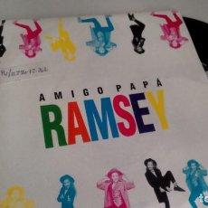 Discos de vinilo: SINGLE (VINILO)-PROMOCION- DE RAMSEY AÑOS 90. Lote 156789070